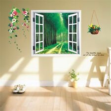 3D Forest Little Road Home Bedroom Decor Removable Wall Sticker Decal Decoration