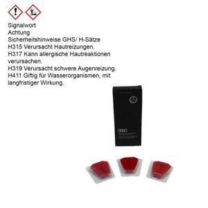 ORIGINAL Audi Nachfüllpack Duftspender Singleframe rot mediterran 81A087009A