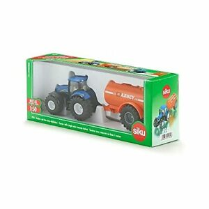 New Holland T8.390 Tractor with Abbey Slurry Tanker Die-Cast Model (Siku 1642)