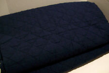 Pottery Barn Belgian Flax Linen Diamond Quilted Midnight Blue King Quilt New