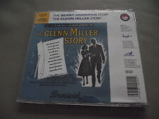 Neuf THE GLENN MILLER STORY + THE BENNY GOODMAN STORY Film BANDES SONORES 2 CD