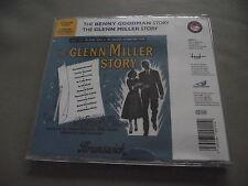 *NEW* THE GLENN MILLER STORY + THE BENNY GOODMAN STORY FILM SOUNDTRACKS 2 CD