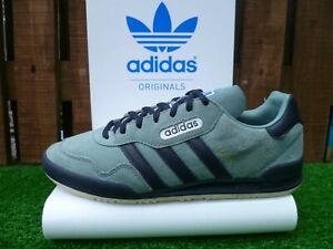 VINTAGE ADIDAS JEANS SUPER 80s casuals 2017 UK8 VERY RARE OG COLOURWAY