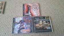 3 x LIMP BIZKIT CD ALBUMS . rap rock metal numetal