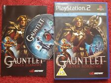 Gantlet siete penas Original Black Label SONY PLAYSTATION 2 PS2 PAL
