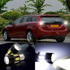2x 1156 P21W  LED Light Rear Reverse Bulb For  VOLVO S40 S80L XC90 XC60 V60 C30
