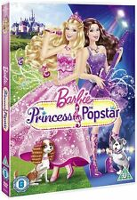 Barbie: The Princess and the Popstar [DVD] * New & Sealed *