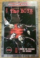 FCBD 2020 THE BOYS #1 NM Free Comic book Day Dyamite Comics