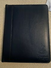 More details for tottenham hotspur leather folder (early 90's) inc photos of players, some signed
