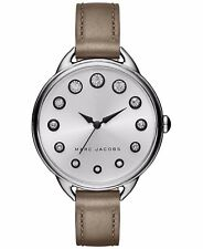 Women's Marc Jacobs Betty Crystallized Leather Watch MJ1476