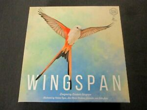 OEJ ~ Wingspan ~ Revised w/ Swift Start Pack ~ Board Game ~ by Stonemaier Games