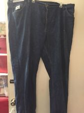 Diamond Gusset Jeans 50 x 30 Big & Tall Blue 5 Pocket 100% Cotton Read!