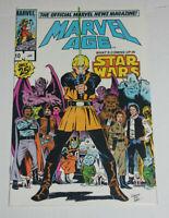 MARVEL AGE #10 • Luke Skywalker • Star Wars Cover Frenz Cover NM 9.4