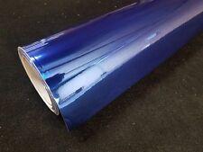 3M x 1.52M Blue Chrome Stretchable Vinyl Wrap w/ Air Release Technology