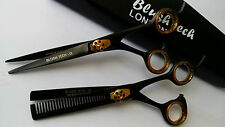"""6.5"""" Gift Set Professional dog cat grooming hairdressing & thinning scissors pet"""
