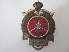 Vintage Ancien Du Volant Belgian Car Club Grille Badge Emblem RARE Belgium