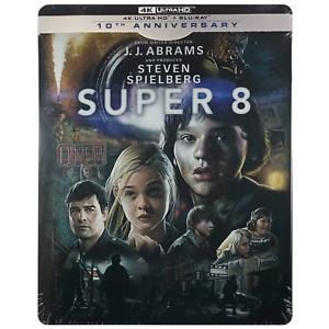 Super 8 4K Steelbook **Region B** - UK Release Limited Edition Blu-Ray
