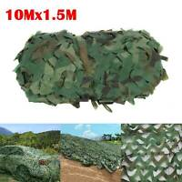 10x1.5M Net Cover Camouflage Netting Camo Hunting Shooting Camping Army Hide UK