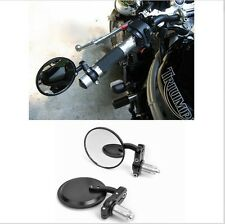 """Motorcycle Rear view Side Mirror For 7/8"""" Handlebar For ROYAL ENFIELD BULLET"""