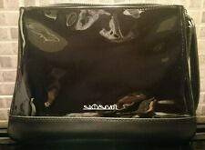 New SixtySeven Ladies Black Patent Bag - Evening / Smart Casual / Zip / Clutch