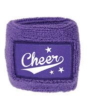 Schweißarmband lila, Cheerleading, Cheerleader, Wristband, Sport, Freizeit