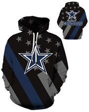 Dallas Cowboys Hoodie Lightweight Small-XXXL 2XL Unisex Men Women Football