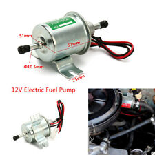 12V Electric Fuel Pump Shut-off Pressure GAS Diesel Petrol Pump For Most Car ATV