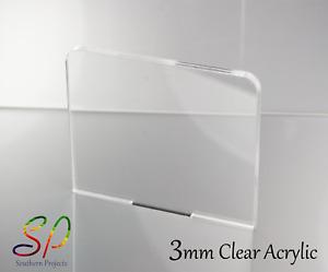 3mm Clear Acrylic Sheets Clear Cast Acrylic