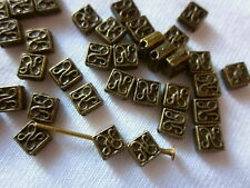 50 Antique Bronze 5x5x2mm Celtic Spacer Beads #sp1352 Combine Post-See Listing