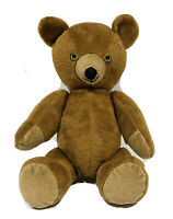 """Vintage Jointed Teddy Bear Plush Toy Stuffed Animal Brown 18"""""""
