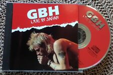 GBH / LIVE IN JAPAN - CD (printed in UK - 1993) NEAR MINT