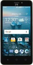 AT&T Prepaid - ZTE Maven 2 4G LTE with 8GB Memory Cell Phone - Dark Gray
