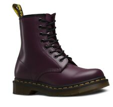 2b16757dca6bf Dr. Martens Women Pascal Leather Combat Boots Gothic Purple EU 36 UK3 US 5