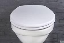 WC Sitz mit Absenkautomatik Toilettensitz Toilettendeckel Klobrille Klositz Weiß