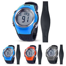 Fitness Cycling Sport Heart Rate Monitor Waterproof Watch Wireless Chest Strap