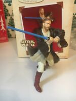 Navidad Hallmark Recuerdo Star Wars Obi-Wan Kenobi Ornamento Nuevo en caja