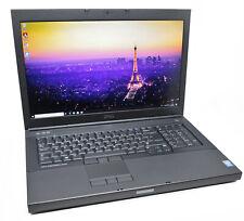 """Dell Precision 17.3"""" M6800 CAD Laptop: Core i7, Quadro, 480GB SSD, VAT, Warranty"""