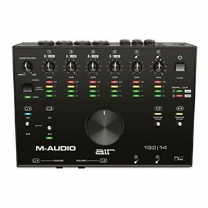 M-Audio AIR 192 MIDI Schnittstelle  8 in 4 out USB Audio Pro Tools high Quality