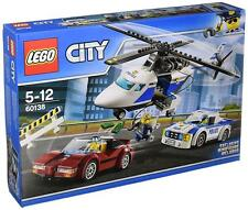 Ref.60138 LA COURSE POURSUITE EN HELICOPTERE - Lego City
