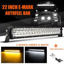 22 INCH 480W CREE LED LIGHT BAR COMBO OFFROAD 4WD TRUCK ATV UTE VS QUAD ROW 24 7