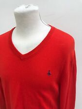 L@@K JACK WILLS JUMPER MENS SMALL/MEDIUM FIT ORANGE COTTON/CASHMERE SWEATSHIRT