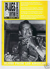 MAGAZINE BLUES & RHYTHM GOSPEL TRUTH No 65 NOVEMBER 1991 GEORGE SMITH
