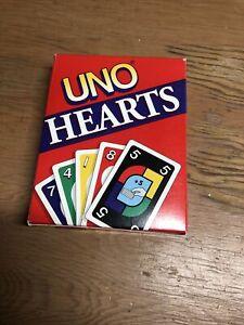 Vintage 1994 Mattel UNO Hearts Card Game