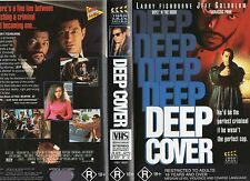 DEEP COVER - Fishburne - VHS - PAL - NEW - Never played! - Original Oz release