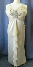 Stunning long dress, MORGAN & CO, size 8, jewelled front,