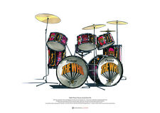 Keith Moon's Pictures of Lily Drums ART POSTER A2 size