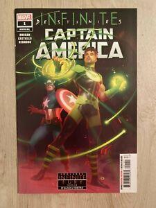 Captain America Annual #1 * NM * cover A * Infinite Destinies 2021