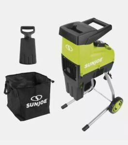 Sun Joe CJ603E 15-Amp 1.7-Inch Cutting Electric Silent Wood Chipper/Shredder
