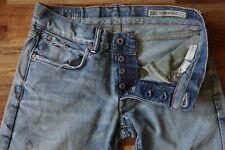 TOMMY HILFIGER ROGAR REGULAR LOW WAIST STRAIGHT Blue Worn Jeans W30 L32