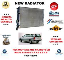 PARA RENAULT MEGANE GRANDTOUR KA0/1 Mk I 1.4 1.6 1.8 1.9 1996>2003 RADIADOR